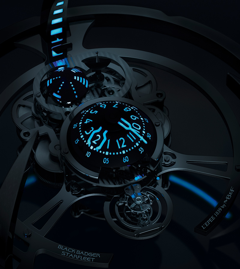 MB&F / Black Badger Starfleet Machine