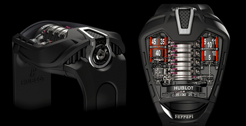 The Hublot Ferrari masterpiece