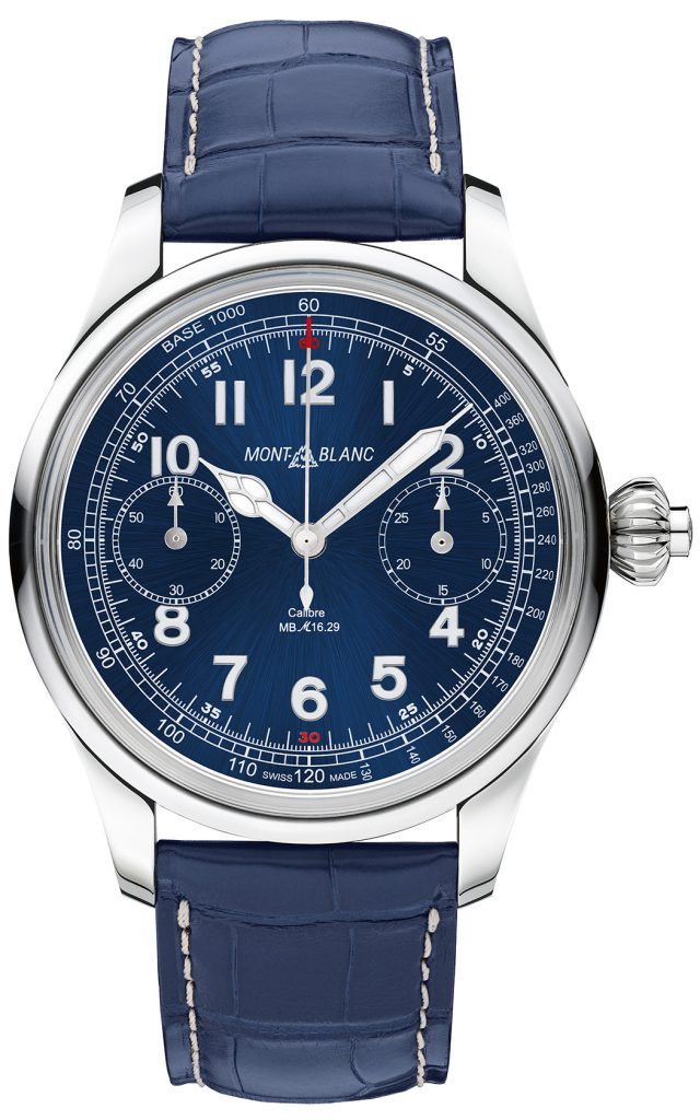 Chronograph Watch Prize: Montblanc, 1858 Chronograph Tachymeter Limited Edition