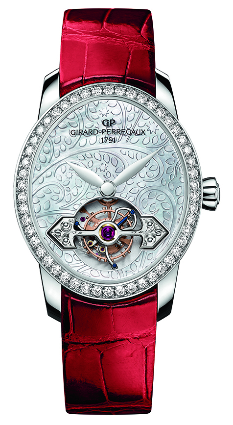 Ladies' High-Mech Prize: Girard-Perregaux, Cat's Eye Tourbillon with Gold Bridge