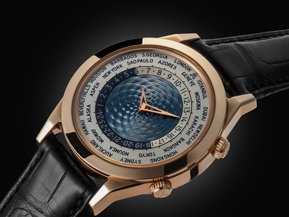 Andersen Genève - Tempus Terrae (world time) 25th Anniversary. Rose gold case - limited to 25 pieces.