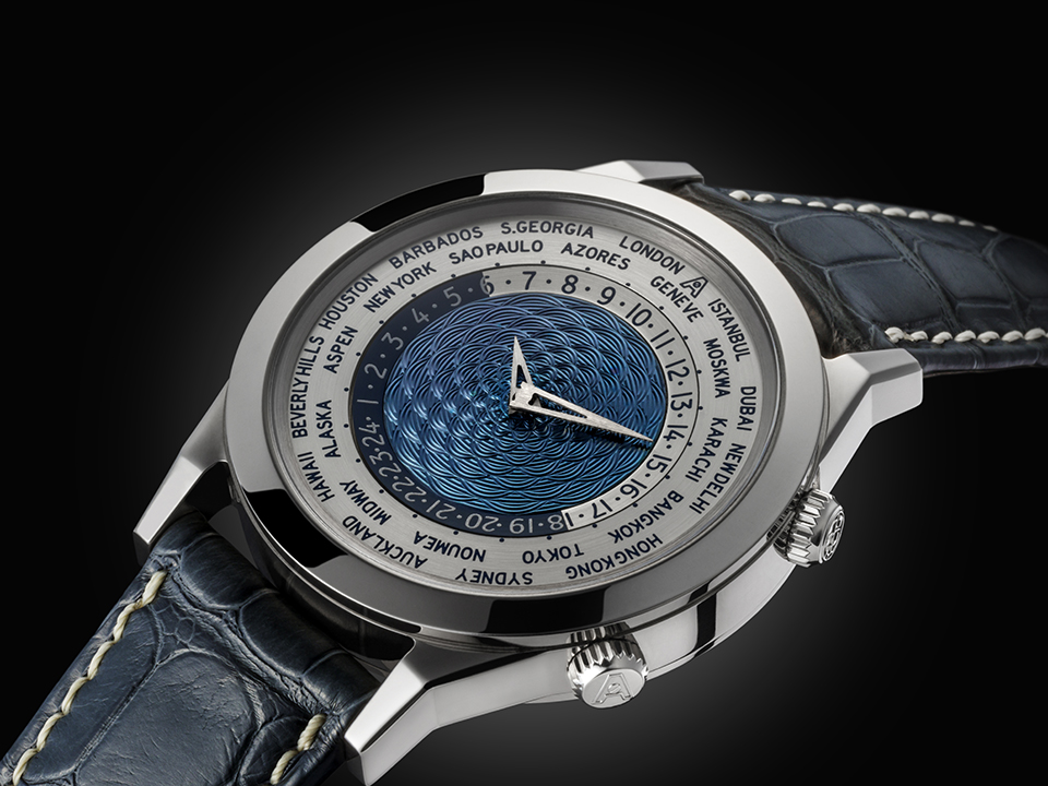 Andersen Genève - Tempus Terrae (world time) 25th Anniversary. White Gold case - limited to 25 pieces.