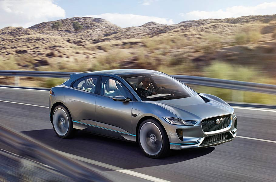 Aerodynamically Stunning - The Jaguar I‑PACE CONCEPT DESIGN