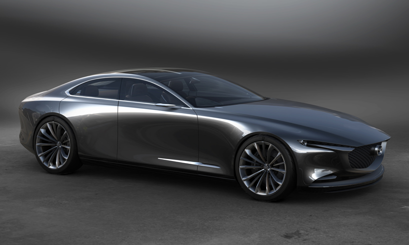 MAZDA VISION COUPE CONCEPT - Do try to notice the rear doors!