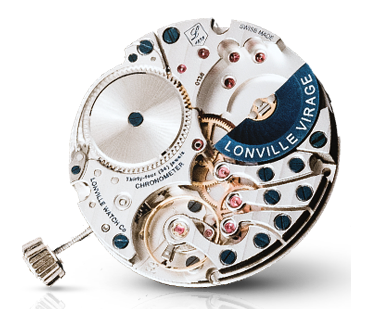 The spectacular micro-rotor execution of the LV1 (Lonville 1) movement