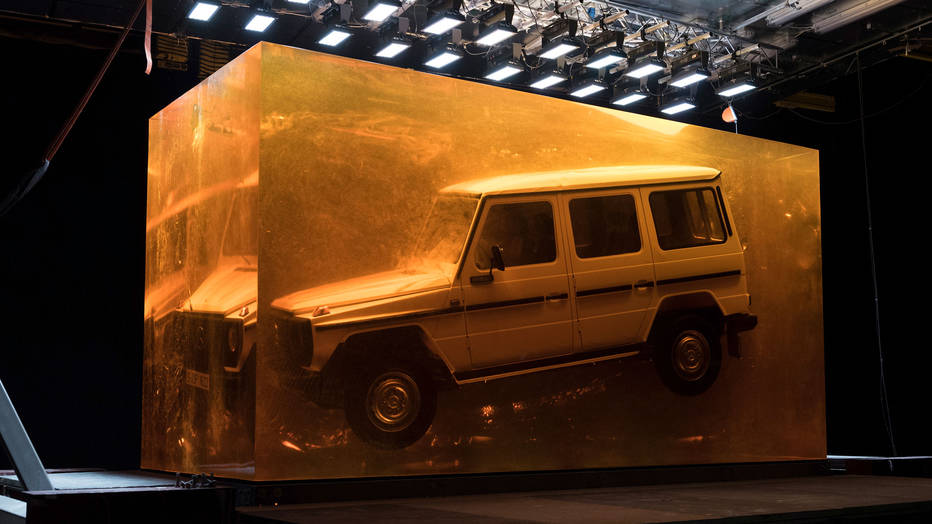 1979 Mercedes-Benz G-Wagen in resin