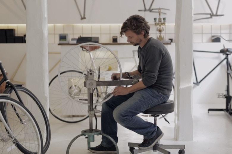 Rasmus Gjesing, Cykelmageren