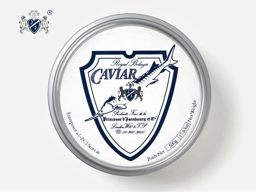 The Beluga is the Prince of caviar